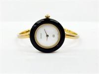 Ladies Genuine Vintage Gucci 18K Plated Watch