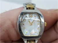 Ladies Fossil F2 ES-1427 Abalone Dial Watch