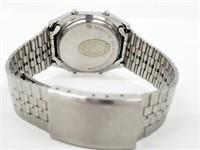 SEIKO Alarm Lighted Chronograph Watch A914-5A09
