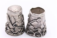 .925 Sterling Silver Thimbles