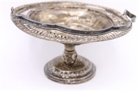 Vintage Columbia Sterling Weighted Compote