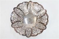 Vintage Openlace Sterling Plated Centerpiece