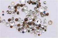 Bag Of Rhinestones And Jewels