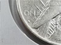 1934-D Key Date Peace Dollar