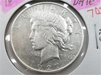 1927-D Key Date Peace Dollar