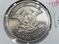 Anheuser Busch 1 Oz .999 Silver Coin