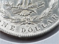 1885-D Morgan Dollar