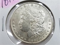 1897 Morgan Dollar