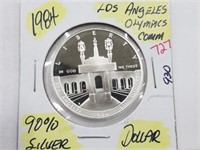 1984 Los Angeles Olympics Comm. Silver Dollar