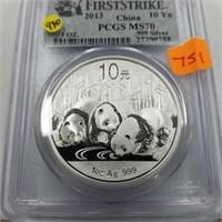 2015 1 Oz. .999 Silver 10 Yn Coin
