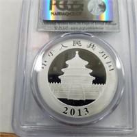 2014 1 Oz. .999 Silver 10 Yn Coin