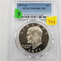 1977-S Silver Dollar