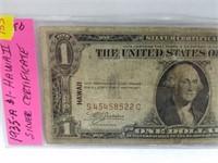 1935-A $1 Hawaii Silver Certificate