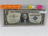1957 $1 Star Note Silver Certificate