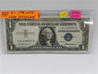 1957 $1 Star Note Silver Certificate