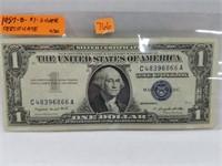 1957-B $1 Silver Certificate