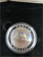 2004 31 Grams .999 Silver Canadian Iceberg Coin