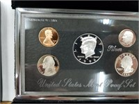 1996 90% Silver US Mint Premier Proof Coin Set