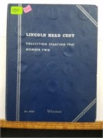 Lincoln Head Cent Collection Book