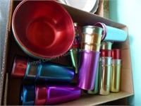 Rainbow glasses & bowls