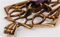 Jewelry 10kt Yellow Gold Pendant