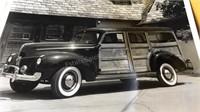Collection of Unframed Vintage Automotive Prints