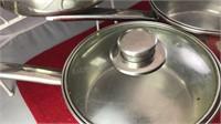 Vintage Presto Pressure Cooker and 3 Covered