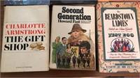 9 Vintage Hardcover Novels