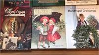 8 Hardcover Christmas Craft Books