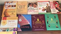 9 Vintage Hardcover Books Health and Beauty and