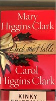 8 Vintage Books Mary Higgins Clark Kinky Friedman