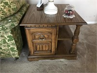 Coffee table and two matching end tables. Coffee