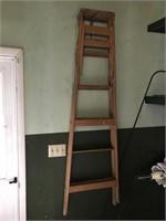 Ladder, edger, trimmer