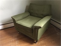 Vintage Green upholster chair in