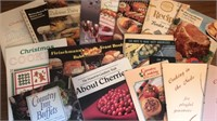 Collection of Vintage Cooking and Recipe Booklets