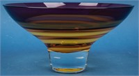 """""""Evolution"""" Art Glass Bowl by Waterford"""