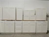 Shaker White 15pc Kitchen Set