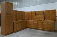 Regal Oak 15pc Kitchen Set