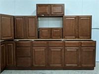 Charleston Traditional Cognac 14pc Kitchen set