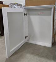 """NIB White 19.25"""" medicine cabinet"""