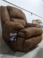 Simon's brown recliner