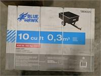 NIB Blue Hawk dump cart 10cu ft