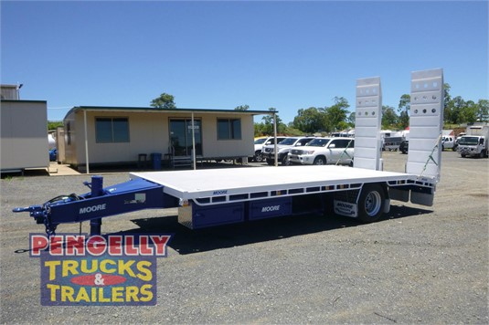 2014 Moore Plant Trailer With Ramps Pengelly Truck & Trailer Sales & Service - Trailers for Sale