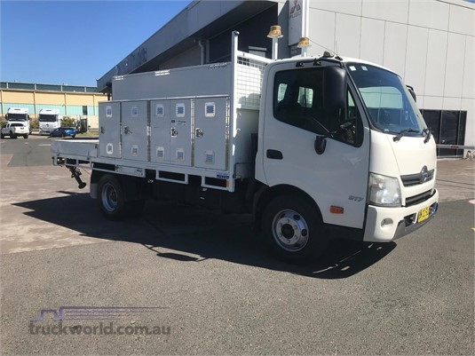 2011 Hino 300 Series 917 Adtrans Used Trucks Sydney - Trucks for Sale