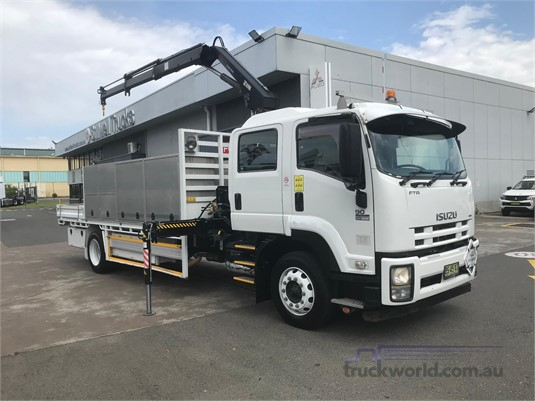 2012 Isuzu FTR Adtrans Used Trucks Sydney - Trucks for Sale
