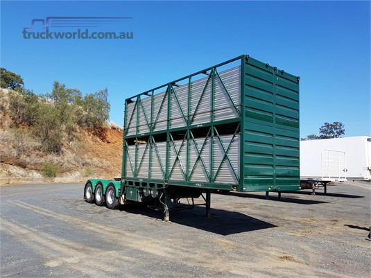 2005 Sfm Engineering Stock Crate Trailer - Trailers for Sale