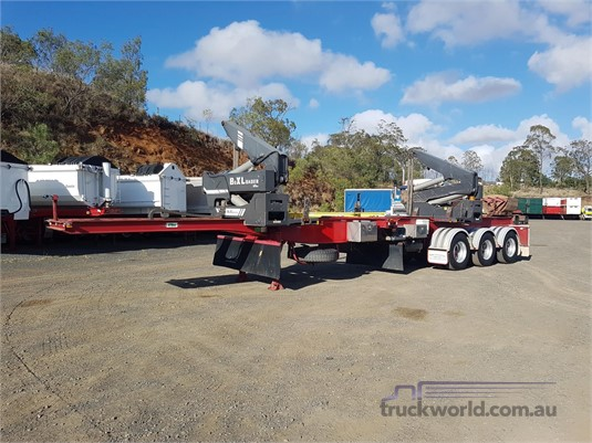 2012 Ophee Side Lifter Trailer - Trailers for Sale