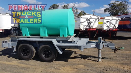1984 Ace Semi Trailer Water Tanker Trailer Pengelly Truck & Trailer Sales & Service - Trailers for Sale