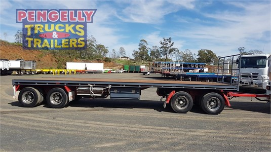 2009 Vawdrey Flat Top Trailer Pengelly Truck & Trailer Sales & Service - Trailers for Sale