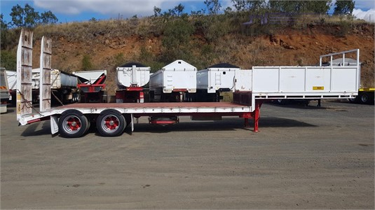 2004 Custom Drop Deck Trailer - Trailers for Sale